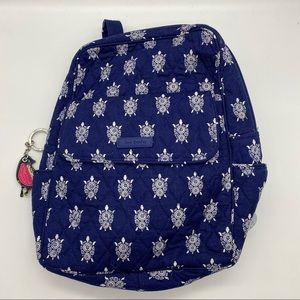 Vera Bradley Sea Turtles Small Backpack